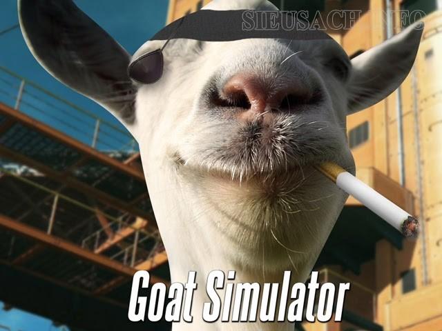 Bỏ quên các định luật vật lý cùng với Goat Simulator