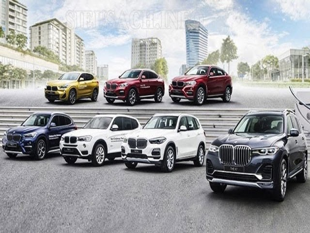 Các dòng xe BMW