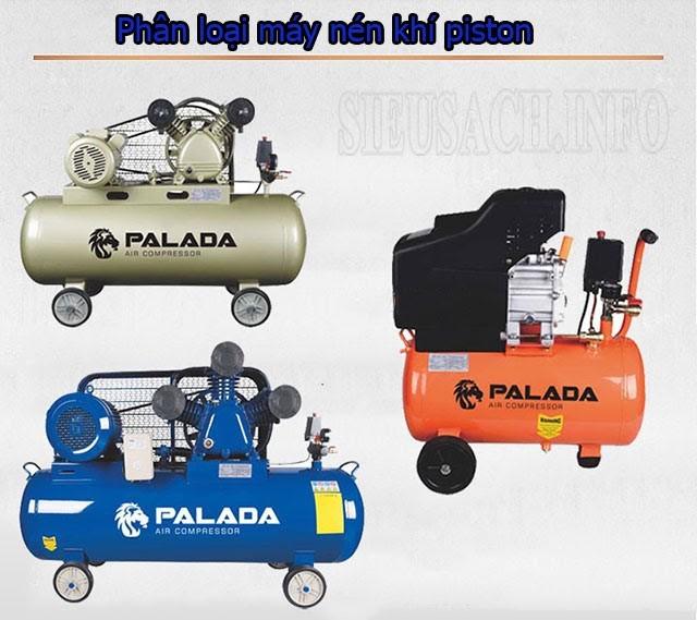 Các loại máy nén khí piston