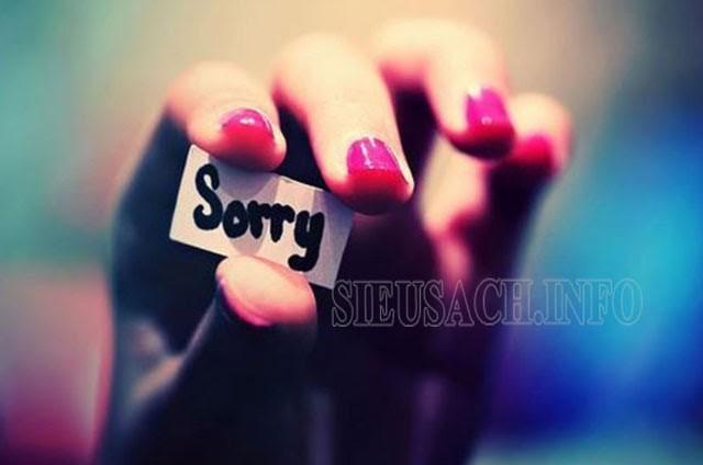 Cách xin lỗi người yêu cho con gái
