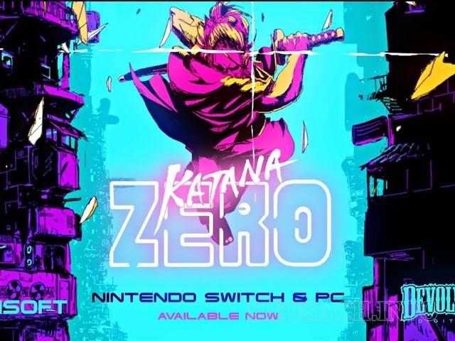 Cùng chiến đấu trong khung cảnh nhiều sắc màu của Katana Zero