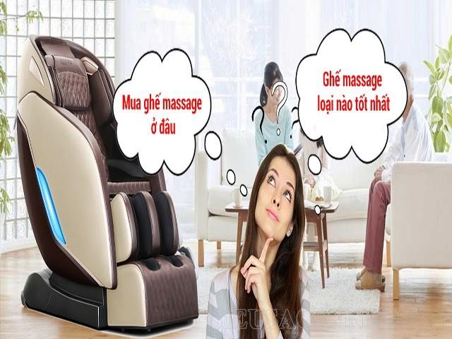 Ghế massage loại nào tốt nhất năm 2021?