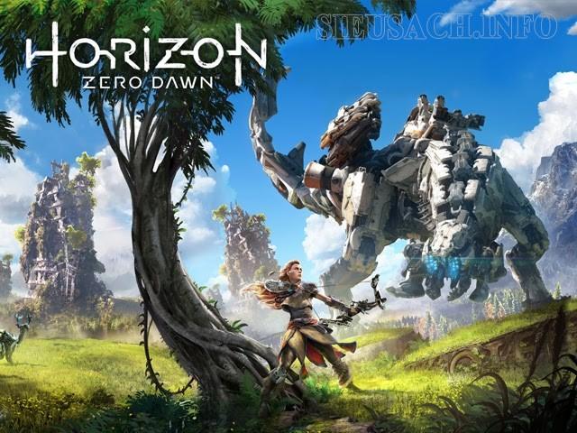 Cùng nữ chiến binh Aloy đầy gan dạ đi tìm câu trả lời cho câu hỏi điều gì đã biến Trái Đất bị thống trị bởi máy móc trong Horizon Zero Dawn