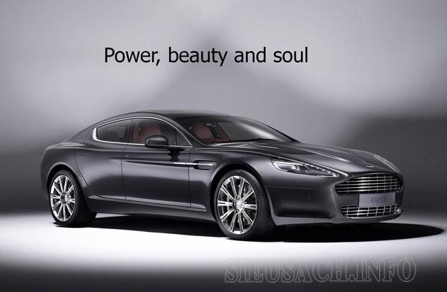 Slogan đến từ Aston Martin