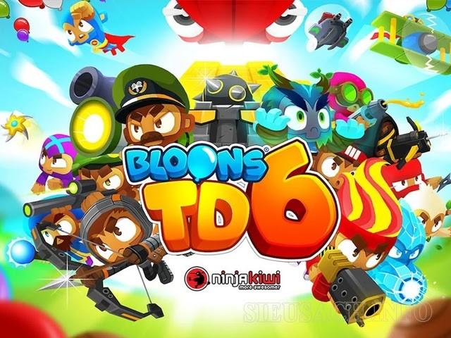 Tựa game Bloons TD 6