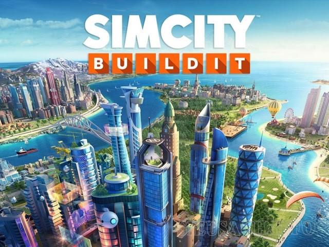 Tựa game SimCity BuildIt