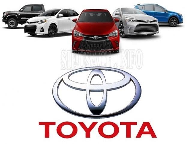 Thương hiệu xe hơi Toyota