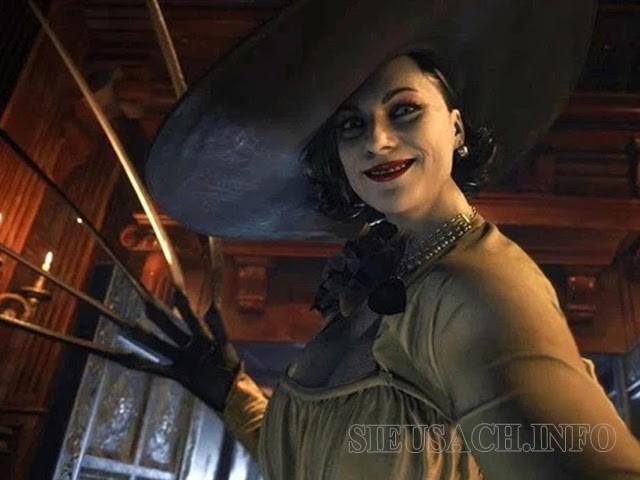 Lady Dimitrescu - Một trong những con boss đầu tiên bạn phải đối mặt trong tựa game Resident Evil 8: Village