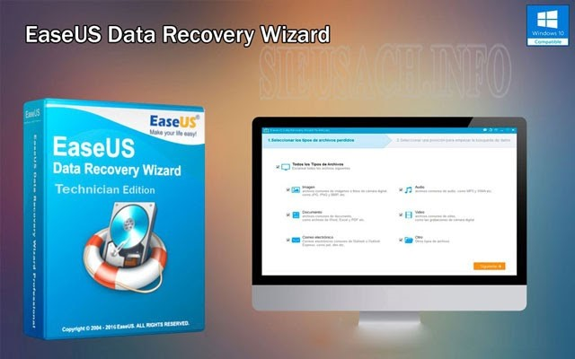 Phần mềm EaseUS Data Recovery Wizard