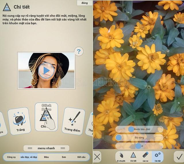 Fotogenic - hỗ trợ chỉnh sửa, làm nét ảnh