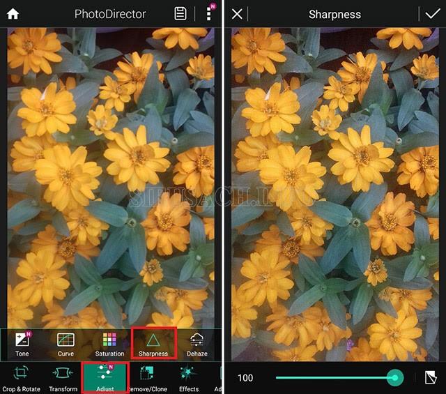 PhotoDirector - app chỉnh sửa kết hợp thủ công và tự động
