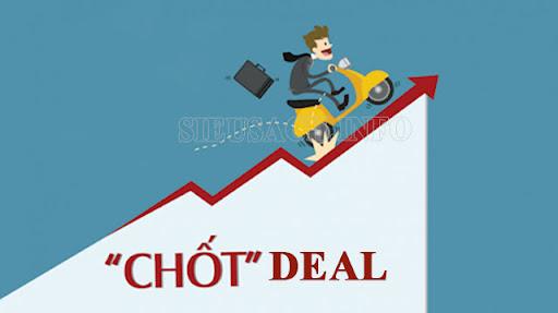 """Thống nhất giữa người mua và người bán người ta sử dụng từ """"chốt deal"""""""