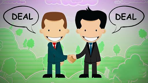 Trong buôn bán, từ deal có nghĩa như thế nào?