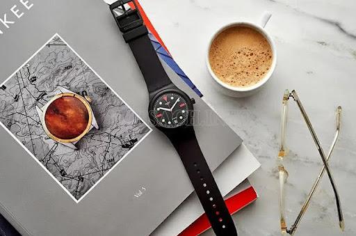 Đồng hồ Swatch đơn giản, tinh tế