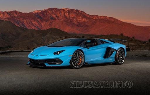 Lamborghini Aventador SVJ 2021