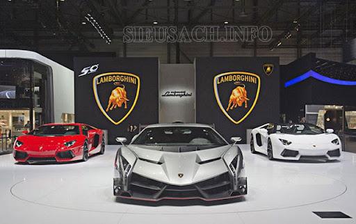 Phong cách thiết kế của Lamborghini
