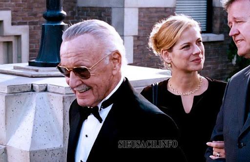 Stan Lee - chủ tịch tập đoàn Marvel xuất hiện trong seri các bộ phim Siêu anh hùng