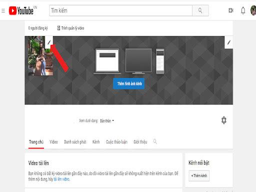 Cách thiết lập kênh Youtube - Chọn ảnh đại diện cho kênh Youtube