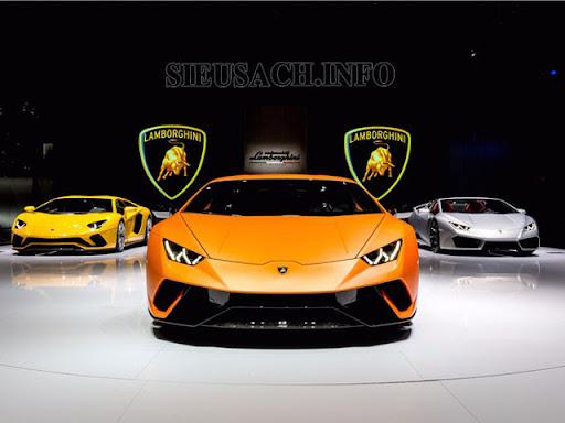 Các dòng xe Lamborghini