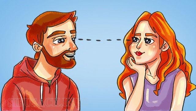 Giao tiếp bằng ánh mắt khi nói chuyện
