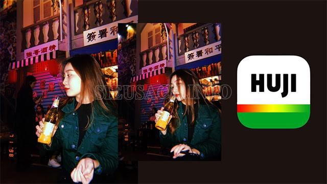 Huji Cam - hiệu ứng chụp ảnh 1998