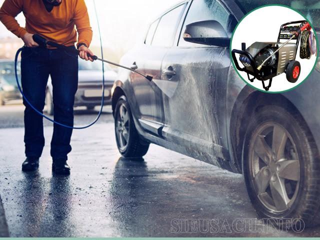 Máy phun xịt rửa cho ô tô