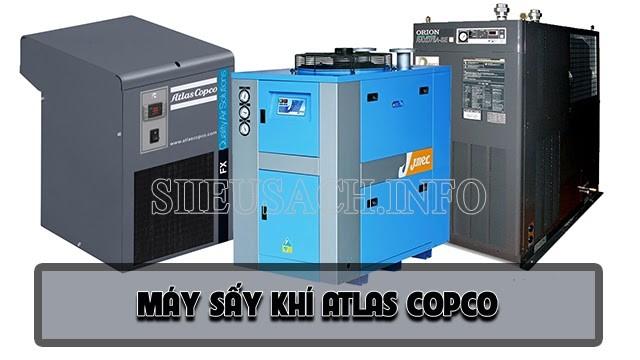 Máy sấy khí Atlas Copco đa dạng mẫu mã